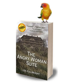 Angry Woman Suite Tour Badge
